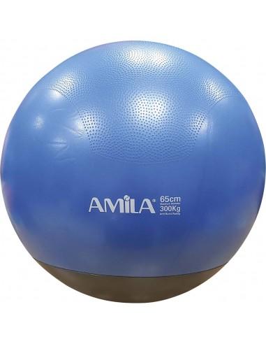 Μπάλα γυμναστικής, Φ65cm, δίχρωμη 48445